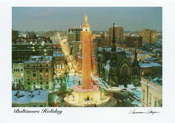 Baltimore Holiday Card